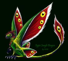 Eypic Jungle Dragon by WebWingz