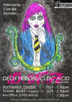 DNA (DeoxyriboNucleic Acid) - Poster by SketchMcDraw