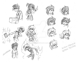 DP: Lel, yes, more sketches by Zilkenian