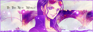 To the new world-Nico Robin by Loowo