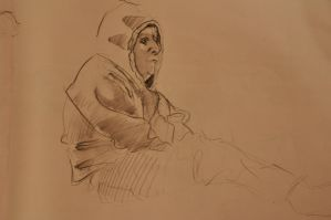 Stu Sitting in His Hoodie by gtothemaximpower