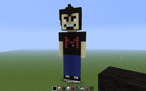 Markiplier in Minecraft by menta-RR-66