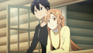 Sword Art Online Kirito and Asuna Together Forever by kanamelover101