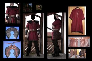 Old Camp Guard  - Light Armor  *Testfit*   Gothic by JaroKrieg