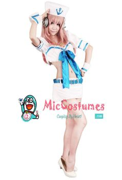 Supersonico Sailor Cosplay Costume by miccostumes