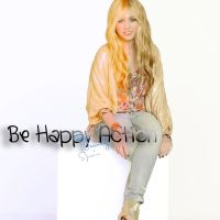 Be happy Action by WenndySpain