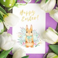 Free Easter greeting card by LunarFerns