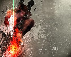 Lee Sin league of legends by mex8