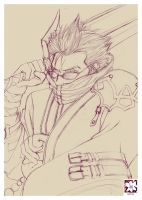 Auron scrap by Misteen