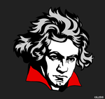 Beethoven by WeAreThePeaceMakers