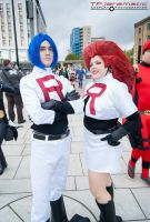 26th Oct MCM LON Team Rocket Jessie and James by TPJerematic