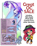 OC SALE: fixed price or points - OPEN by Nordeva