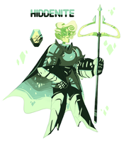 HIDDENITE REFERENCE - MINT DIAMOND'S COLONY by CharliOak