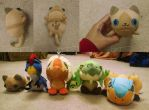Monster Hunter Plushie: Felyne Final - SOLD by Zulema