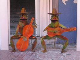 mexican frogs by bipolargenius