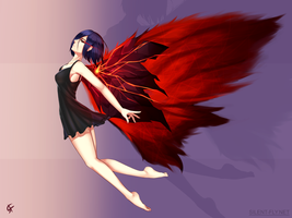 Touka by Silent-fly