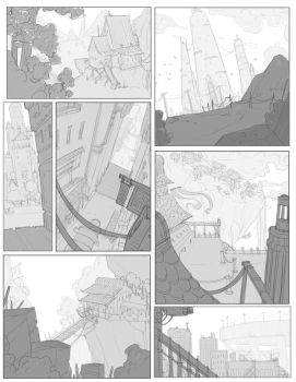 Environment Thumbnails by BrotherBaston