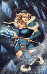 DotA2: Crystal Maiden by Scorch-D