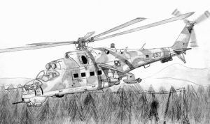 Mi 24CP Hind Polish Airforce by stachu96