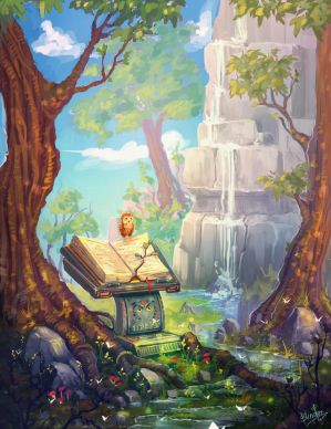 Forest Book by FancyFoxy