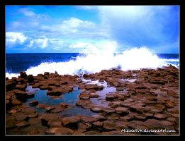 The Giant Causeway by MikeleSVK