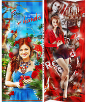Lucy Hale and Troian Avery Bellisario by by-Oblomskaya