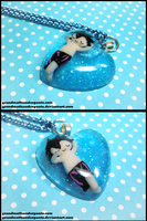 Swimming Haru Necklace by GrandmaThunderpants
