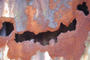 Crack in the Rust by LittleBlueStocking
