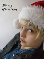 Cosplay - Arthur Pendragon - Merry Christmas by Esarina