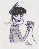 Gorillaz: Murdoc by dustindemon