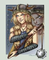 Viking Hall of Fame - Ruffnut by Acaciathorn
