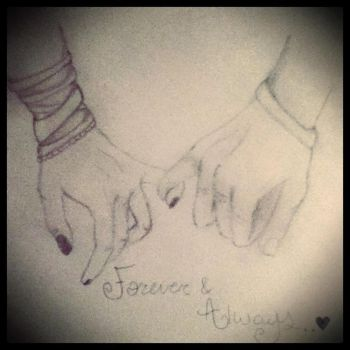 Forever and always.. by XxKhaoticKatxX