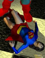Supergirl X downed by CaptainZammo