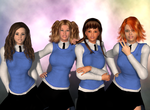 Main Eardian Girls by gkinuwriter