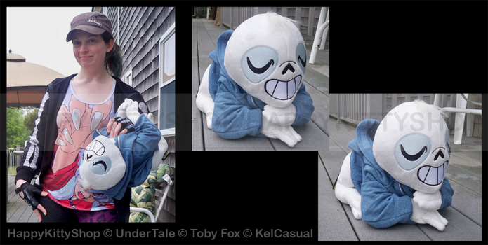 Sloth Sans Plush by QueenBeePlush