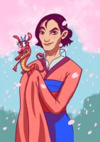 male Mulan by Ripushko