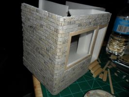 Les Shoppes Dollhouse Project: WIP 6 by kayanah