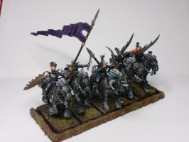 Dark elves dark riders by McGoe