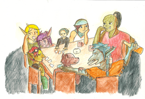 In a Ratchet Tavern by Seriiko