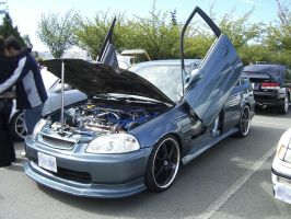 Honda Civic Stock Image 15 by ModifiedCars-stock