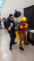 Niagara Falls Comicon - RED Engineer by TheWarRises