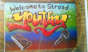 Strood youth club 2 by BogusTheMuralist