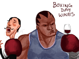 Boxing Day Wines by angryzenmaster