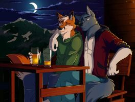 Commission - Once in Alps by ANGO76