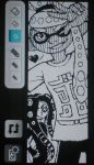 Miiverse Octoling x Inkling 2 by Megaloceros-Urhirsch
