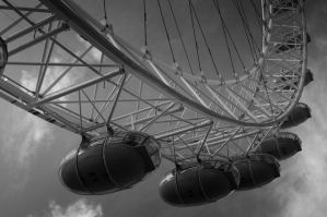 London Eye by moose30