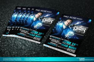 Dj Chris Styles Party Flyer by Gallistero