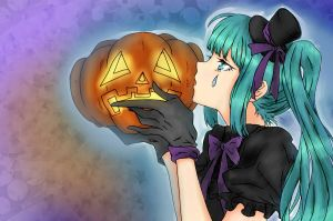 Miku Halloween!~ by kitcat190