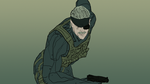MGS4 Old Snake by shilpinator