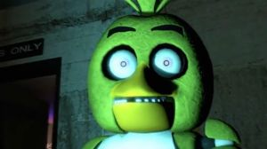 Chica's face of shockness by rons13